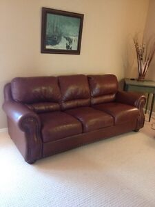 Like NEW leather couch!