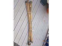 chimney sweep/drain rods