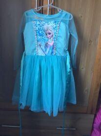 Frozen Elsa dress, 110cm (4-6yrs?)