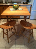 Island / table and stools