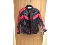 Hunter class motorbike jacket - 12-14 years
