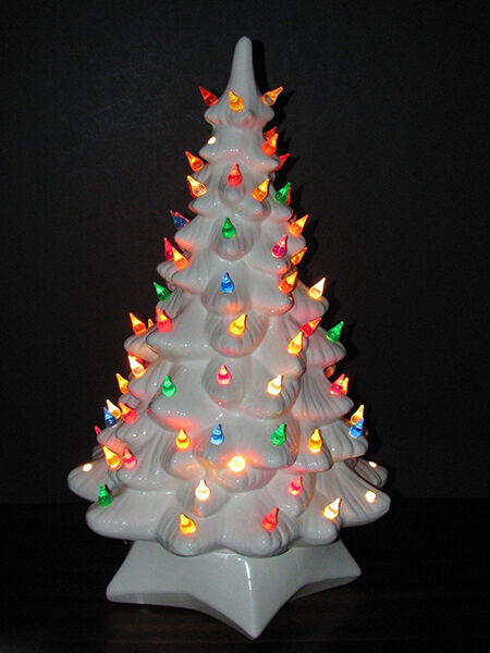 Artificial Christmas Trees EBay - Christmas Lights Christmas Tree