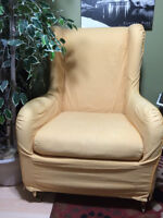 CHAIR YELLOW COVER