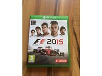 F1 2015 , Xbox one , as new ! Price stands , no offers !