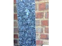 Granite upstand blue pearl