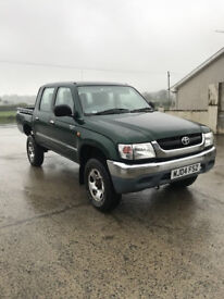 TOYOTA HILUX 2004 DIESEL EXCELLENT CONDITION NO VAT.