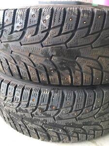 205/65R15 94T studded winter tires Williams Lake Cariboo Area image 8