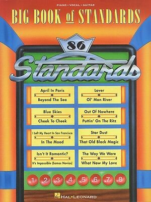 The Big Book of Standards Sheet Music Piano Vocal Guitar SongBook NEW 000311667
