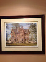 Annandale House Print by Ross Logan