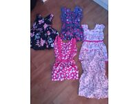 Bag of girls summer clothes age 2-3