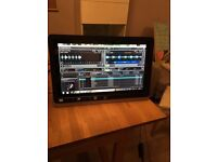 "HP PAVILION 23TM Full HD LED-LCD TOUCH SCREEN MONITOR 23"" in very good condition"