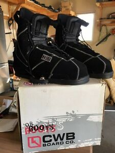 Wakeboard boots size 13 Peterborough Peterborough Area image 1