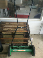 Push Lawnmower- barely used