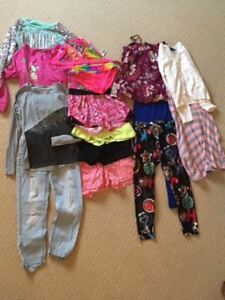 EUC lot of Girls size 10-12 clothing (from Justice, Gap, Nike, e