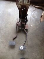 1968 Mustang Disc brake 4 speed pedals and support