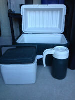 Cooler Ice Box (Coleman) 3 pices