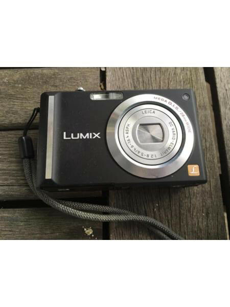 Panasonic Lumix Fx55 Camera With Case Charger Instructions In