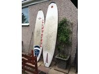 2 surf boards £250 or £150 each