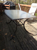 set patio table 6 chaises / patio set table 6 chairs
