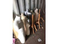 Mannequins job lot