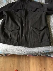 Several mens Xl coats