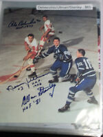 "AUTOGRAPHED HOCKEY 8"" x 10"" Photos"