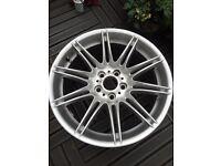 """BMW 19"""" Mv4 rear Alloy wheel"""