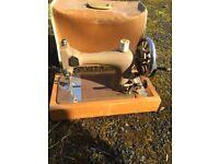 Sewing machine vintage singer sewing machine shabby chic