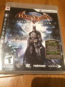 PS3 Batman Arkham Asylum Gatineau Ottawa / Gatineau Area image 1