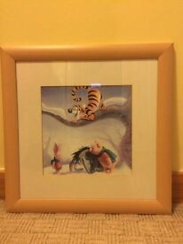 Winnie the Pooh framed picture