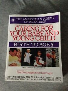 Caring for your baby birth to age 5 book Kingston Kingston Area image 1