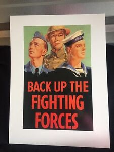 12x16 War reproduction poster