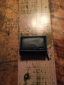 Roots Black Wallet~Small Trifold clutch Prince Kitchener / Waterloo Kitchener Area image 2