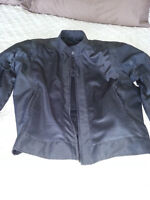 Motorcycle jacket XXL armoured/fabric/mesh  New with tags