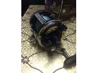 Shakespeare 400 Fulmar 2921 Series Graphite Titanium Fishing Reel and Extra Line Can Deliver