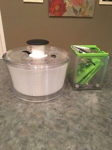 Oxo salad spinner and chopper  Strathcona County Edmonton Area image 1