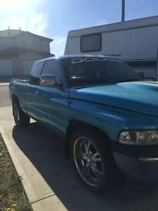 Mint condition truck lots of money invested