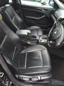 Bmw e46 heated leather interior. Mint