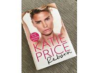Katie Price 'Reborn' book