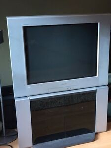"Sony  32"" tv with matching stand"