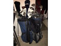 X2 golf sets new boots and trolley