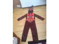 rain dear costume age 7 to 8