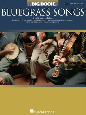 The Big Book of Bluegrass Songs Sheet Music Piano Vocal Guitar SongBoo 000311484