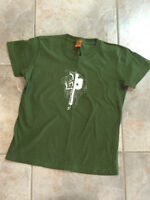 Green & Pink RDS Red Dragon T-Shirt - Women's Size Xs-S