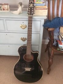 Yamaha 12 string acoustic/ electric guitar
