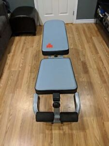 Ironman workout bench