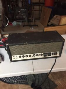 Sunn 190L tube guitar amp head needs repair
