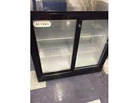 double door bar fridge ,almost brand new!