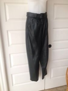 Brown's supple leather pants size 6