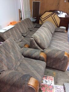 Couch, love seat with pull out bed & chair London Ontario image 1